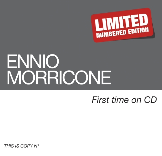 Ennio Morricone - First time on CD